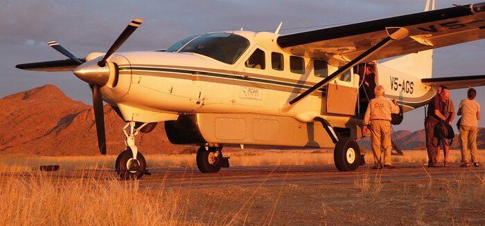 Flug-Safari durch 5 Länder: Namibia, Botswana, Simbabwe, Sambia und Malawi