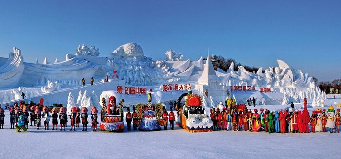 Winter-Abenteuer – Vom Eis am Baikalsee zum Eis-Festival in Harbin