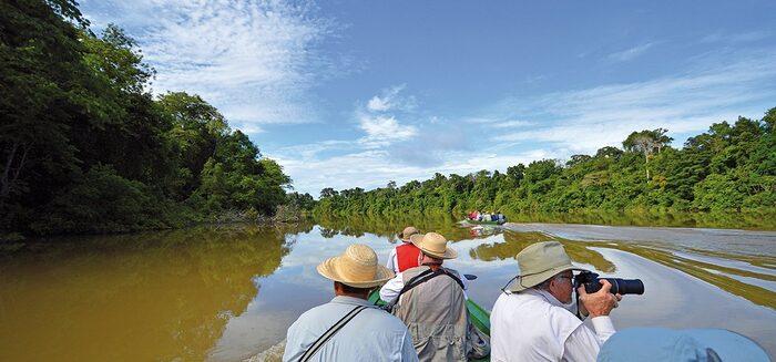 Die geruhsame Variante: 1.000 Amazonas-Meilen ab Manaus