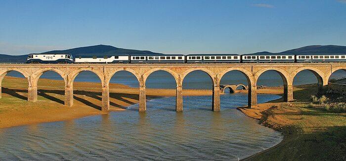 Die schönsten Zugreisen Europas