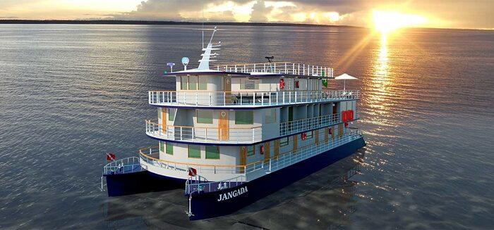Amazonas: Neues Boutique-Schiff MS Jangada
